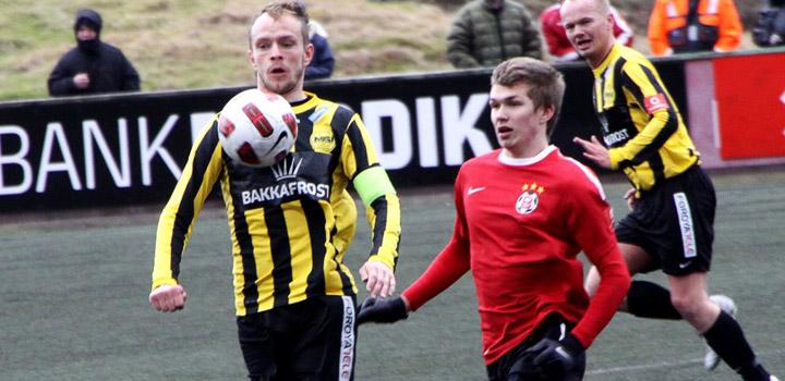 Christian Høgni dagsins maður móti B68