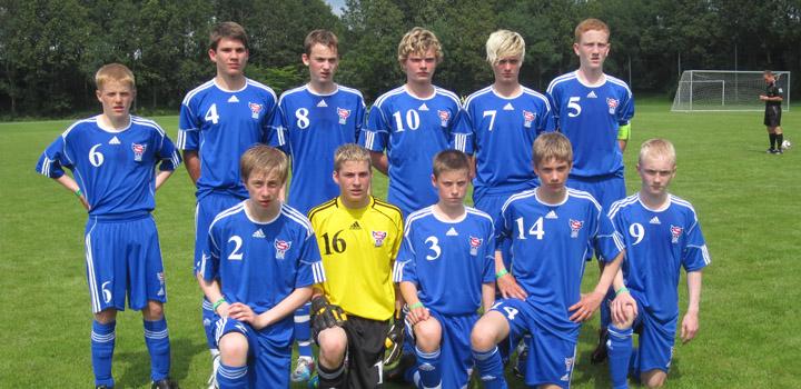 Brøndby Cup: U-15 vann 5-1 á B93 í dag