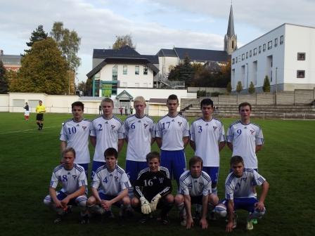 U-17 landsliðið tapti fyrsta dystin