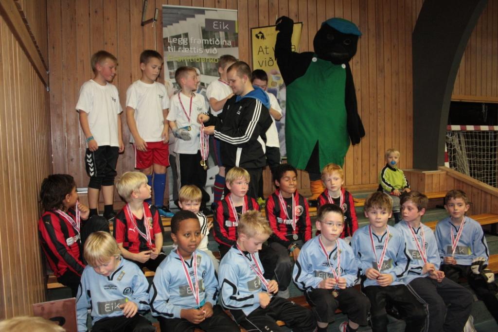 Eik Cup 2011: Stak væl eydnað innandurafótbóltskapping
