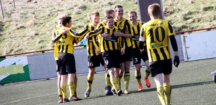 Týðandi sigur í Vági: FC Suðuroy-NSÍ 0-2