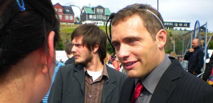 Úr skotgrøvini: Kaj Joensen, EB/Streymur