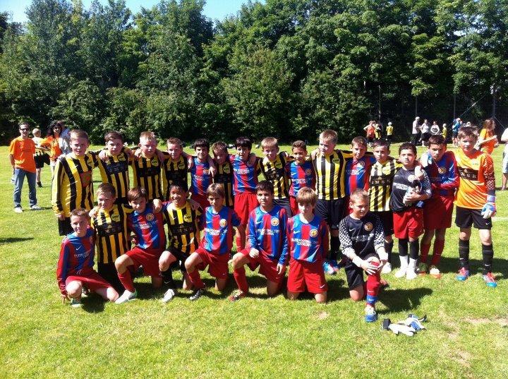NSI dreingir U-12 Århus Football Festival: NSÍ 1 komnir í bronsufinaluna