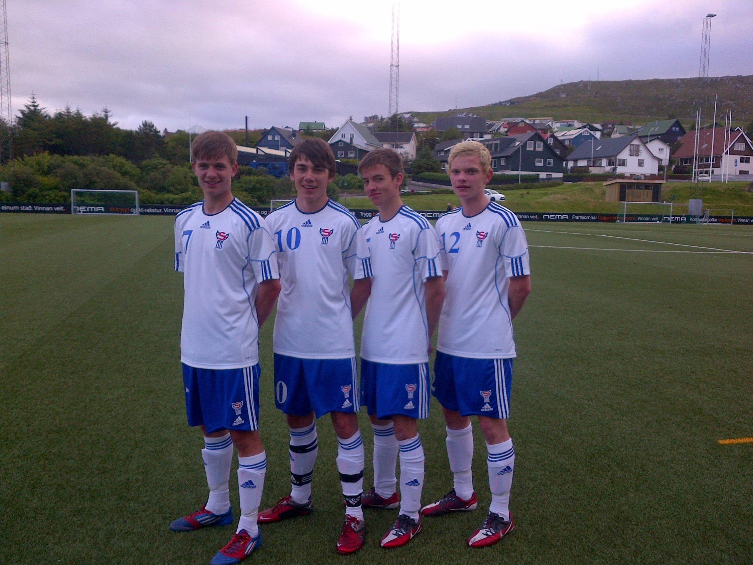Venjingardystur í kvøld á Toftum: NSÌ unglingar og U-17 landsliðið
