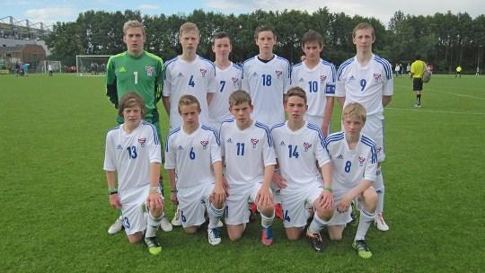 Brøndby Cup 2012: U-15 tapti í dag 1-0 móti FC Midtjylland