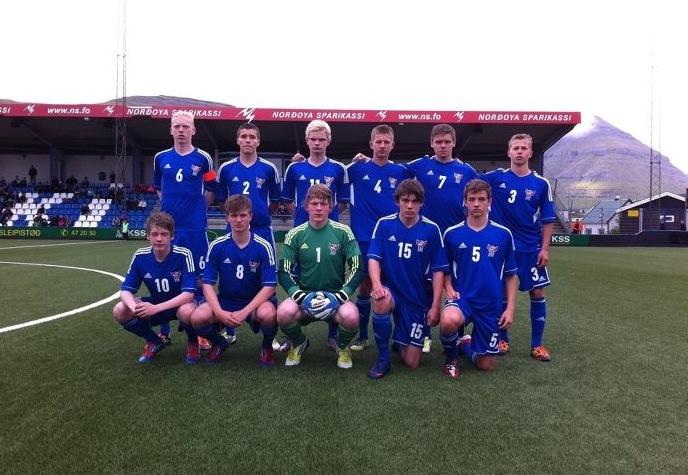 Føroyska U-17 landsliðið sera gott avrik í fyrsta NM dystinum: Ongland-Føroyar U-17: 2-0
