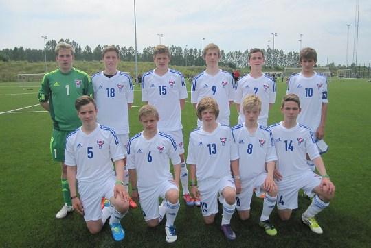 Brøndby Cup 2012: U-15 landsliðið endaði á tíggjunda plássi
