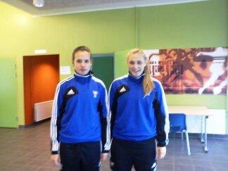 Dania og Durita úttiknar til U-19 kvinnulandsliðið