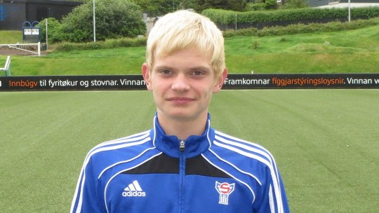 Meinhard Olsen til royndarvenjing í Lyngby í Danmark