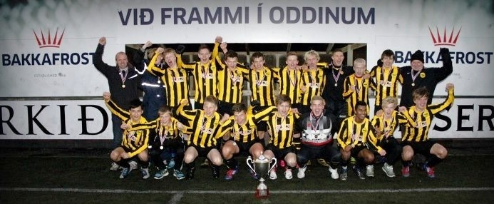 NSÌ Greipuvinnarir Dreingir U-16 í 2012