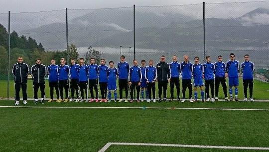 EM U-17 Eysturríki: Føroyar tapti fyrsta dystin 3-0 móti Sveits