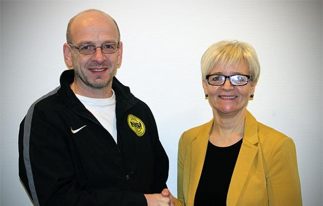 Abraham Løkin venjari hjá NSÍ 2013