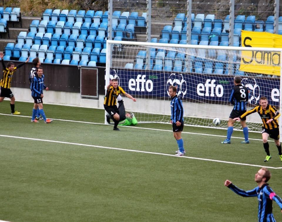 Uppiborin sigur í dag: NSÍ-EB/Streymur 1-0