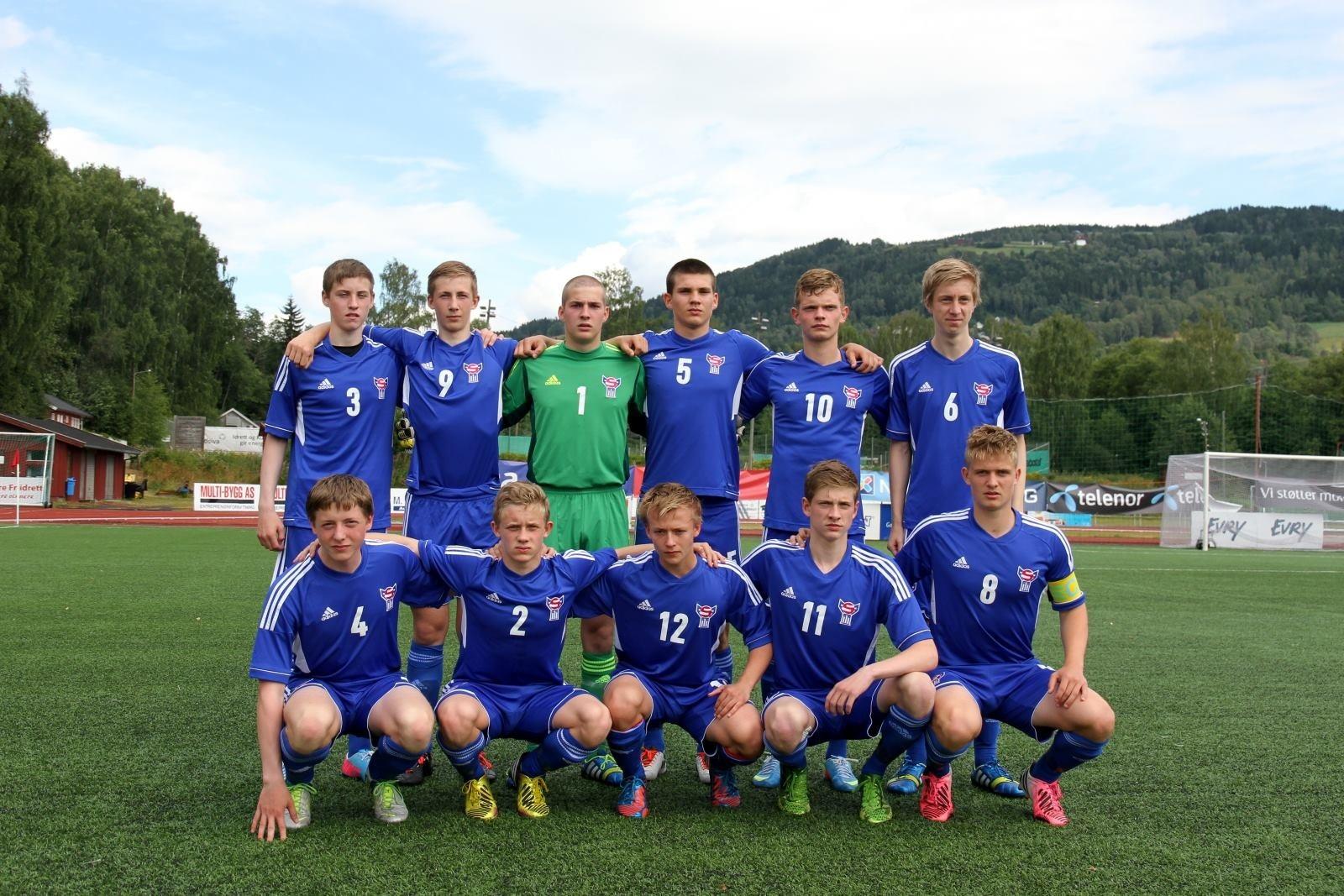 U-17 landsliðið tepurt 1-0 tap móti Onglandi