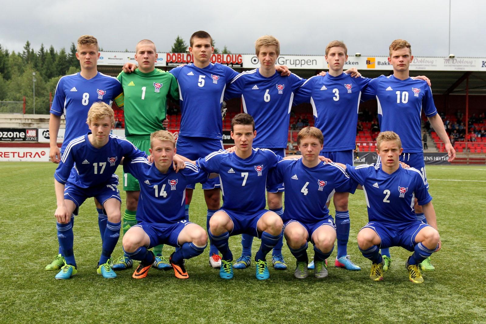 U-17 landsliðið 2-0 tap fyri Norra 1