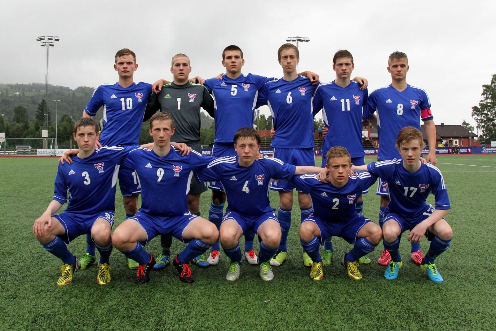 U-17 landsliðið 3-0 tap móti Finlandi