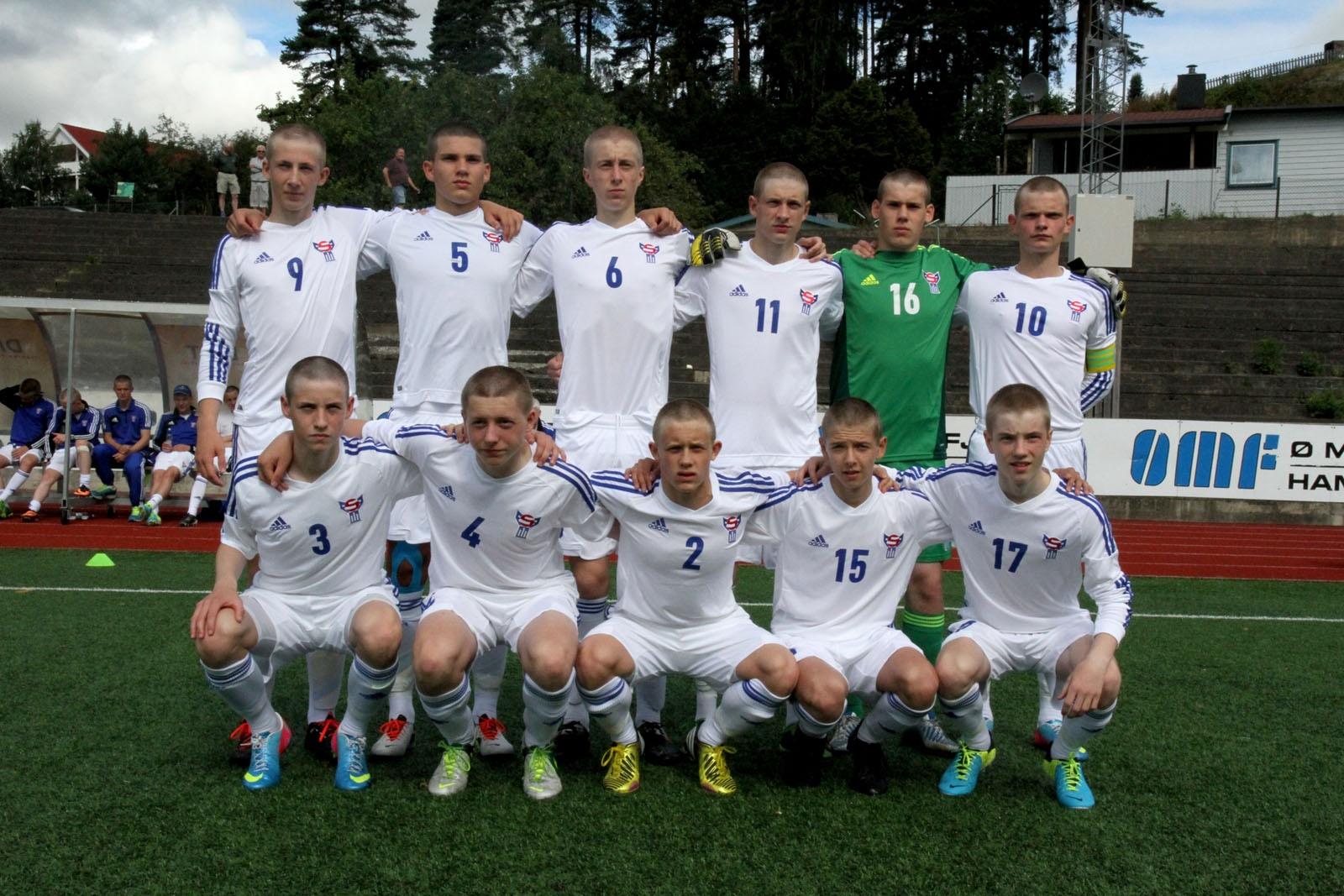 U-17 landsliðið: Plaserings dystur Føroyar – Svøríki 1-6