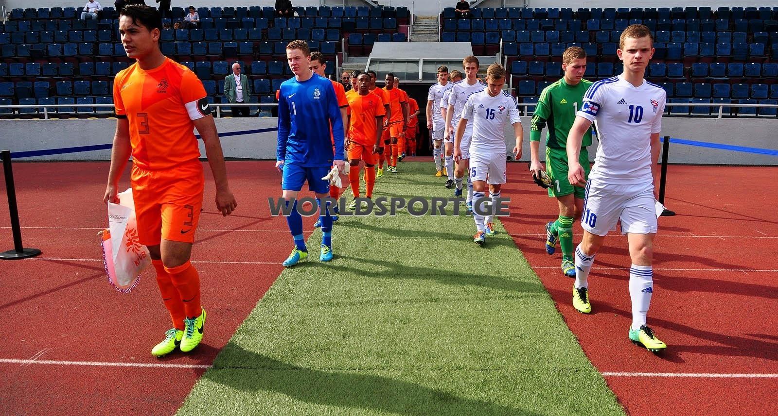 Glottar hóast tap. EM U-17 í Georgia: Holland-Føroyar 4-0