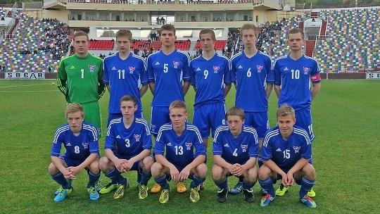 U 17 dreingir: Hepni var ikki við. Georgia- Føroyar 2-0
