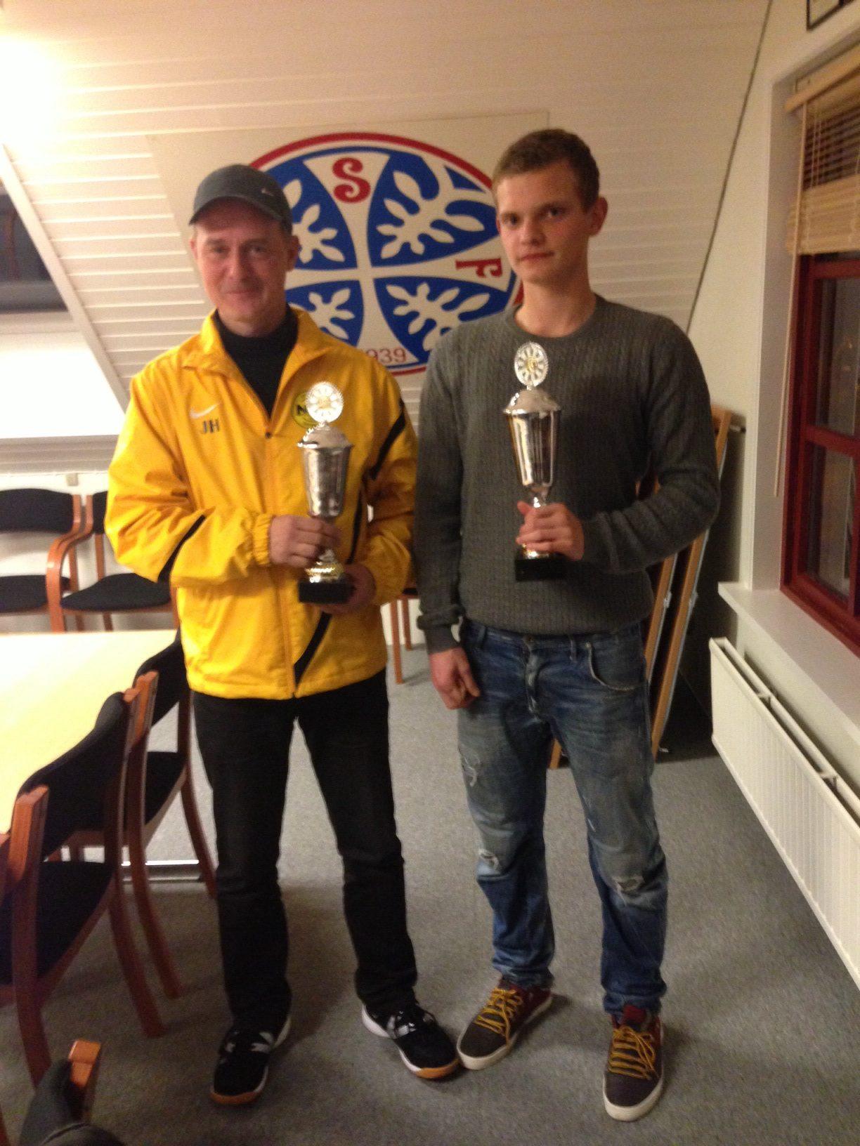 Jonhard og Meinhard heiðraðir.
