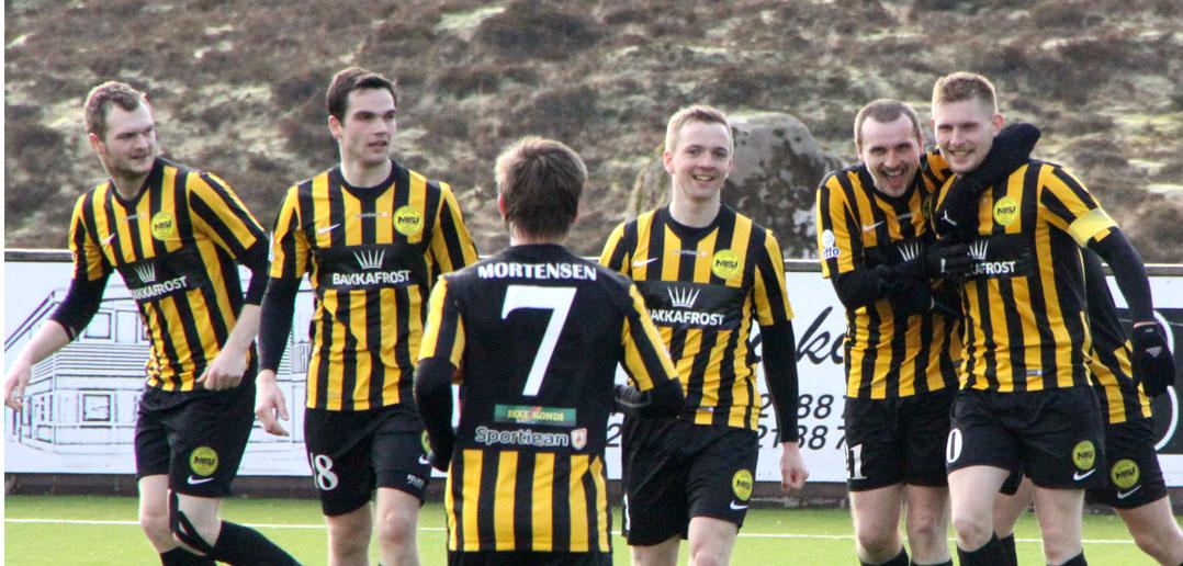 Tryggur 3-0 sigur við Løkin: NSÍ-AB 3-0