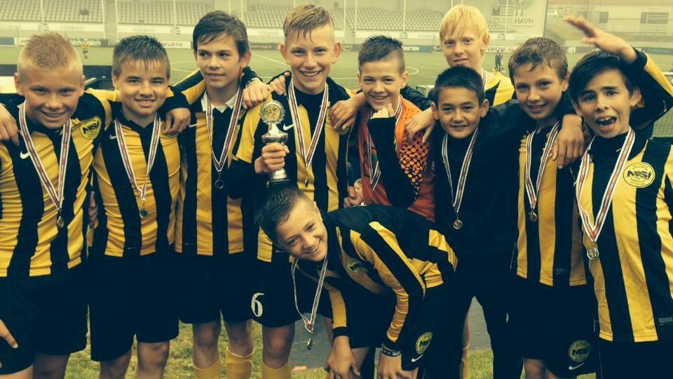 U-14 hjá NSÍ vann Adidas Summer Cup 2014