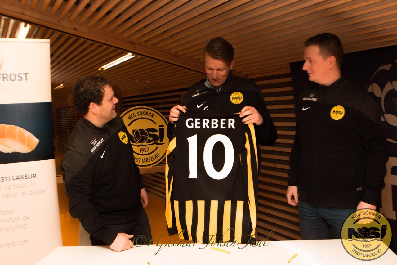 Anders Gerber høvuðsvenjari hjá NSÍ!