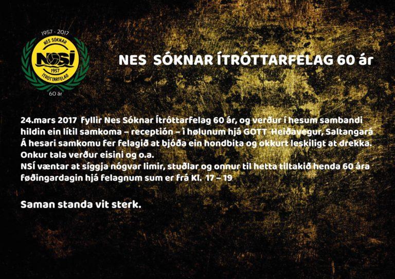 Móttøka í hølunum hjá 'Gott' á føðingardegnum 24. mars
