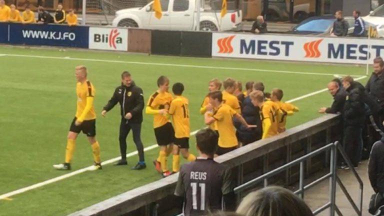 U18: Dávid á Roykheyggi sendi NSÍ í finaluna í yvirtíðini!