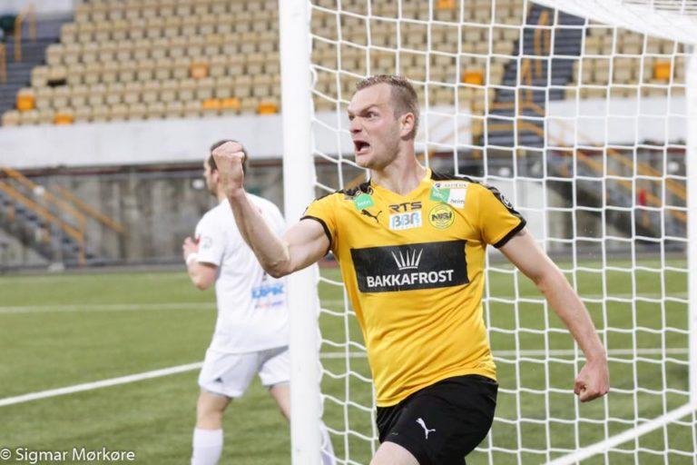 Einar Tróndargjógv longt við NSÍ.