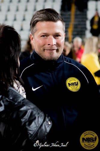 Harry Knudsen er nú hjálparvenjari hjá NSÍ