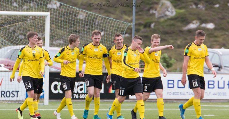 NSÍ vann 2-0 á Argjum!