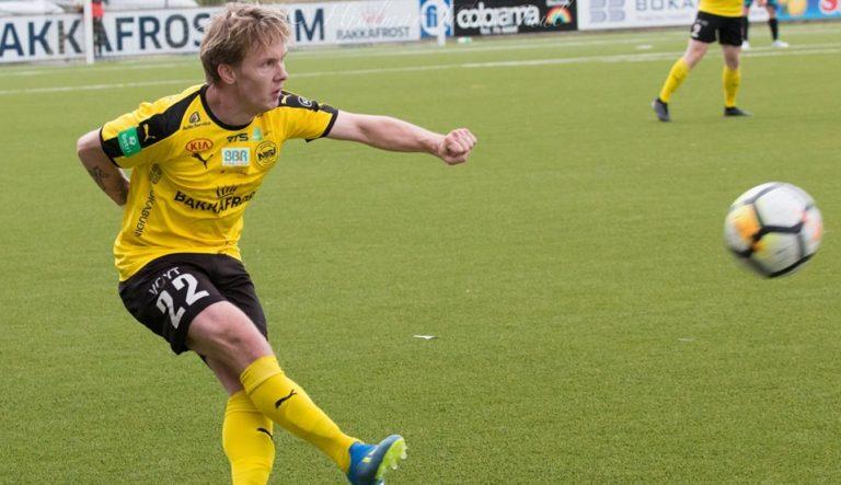 Bárður Jógvansson Hansen heldur fram í gulum!
