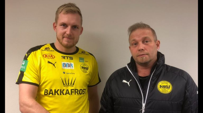 Oddur Højgaard skiftir í gult