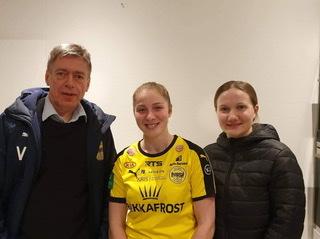 Ansy Sevdal Jacobsen spælir við NSÍ í 2020.