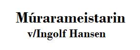 """Múrarameistarin """"Ingolf Hansen"""" stuðlar NSÍ"""
