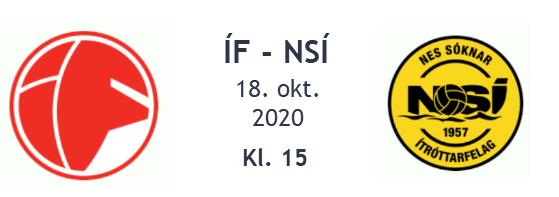 Atkvøð fyri dagsins NSÍ leikara, ÍF – NSÍ, 18. oktober 2020