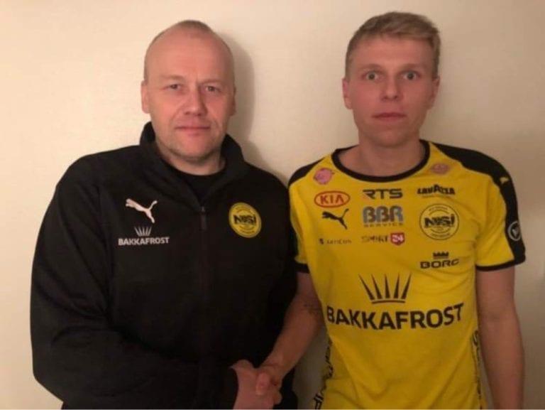 Mikkel Jakobsen er nú NSÍ-ari